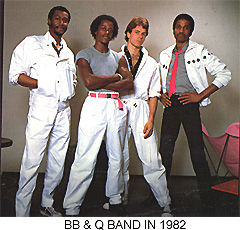 B. B. & Q. band in 1982